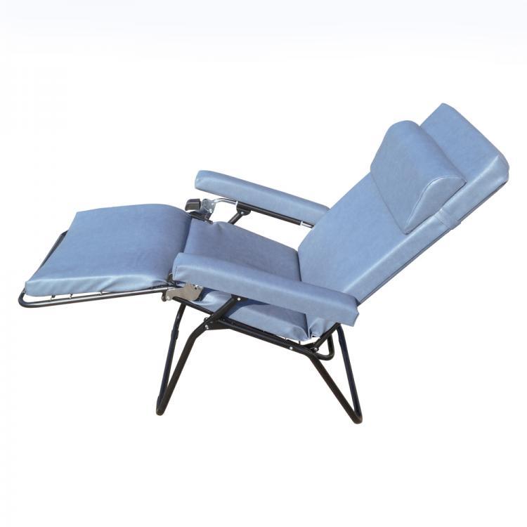 fauteuil pliant pour personnel de garde samrelax - Fauteuil Pliant Relax